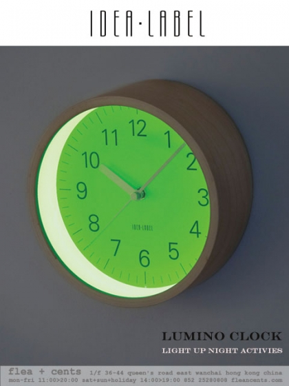 IDEA LABEL - Lumino Clock
